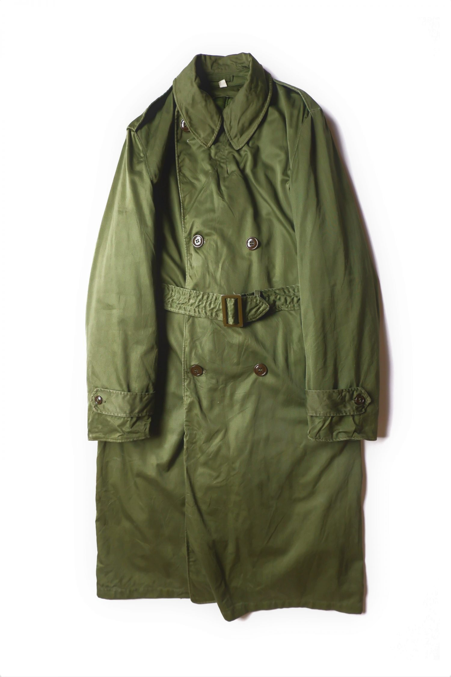1950's Vintage Military Trench Coat_B