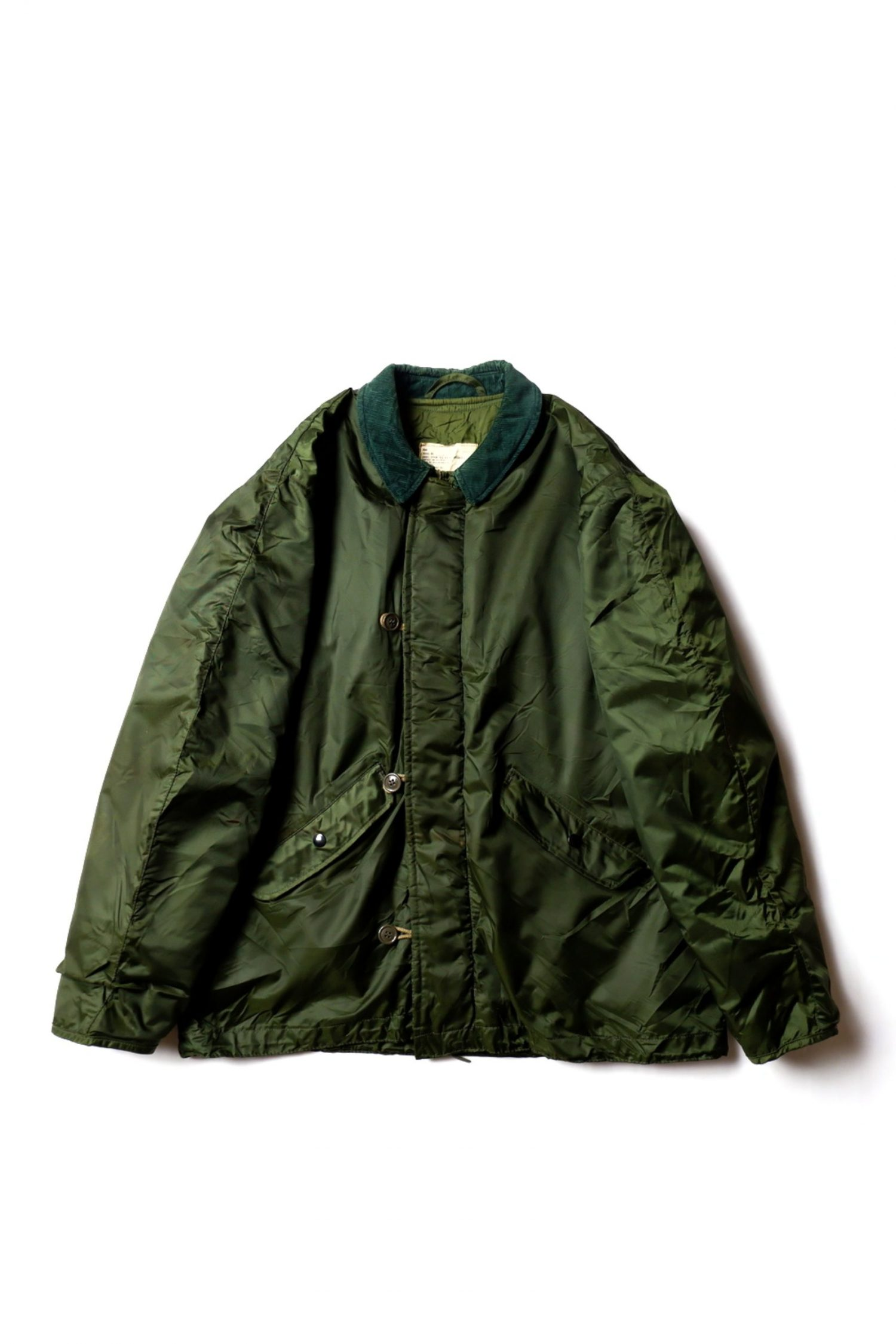 1980 Vintage Military Extreme Weather Impermable Jacket