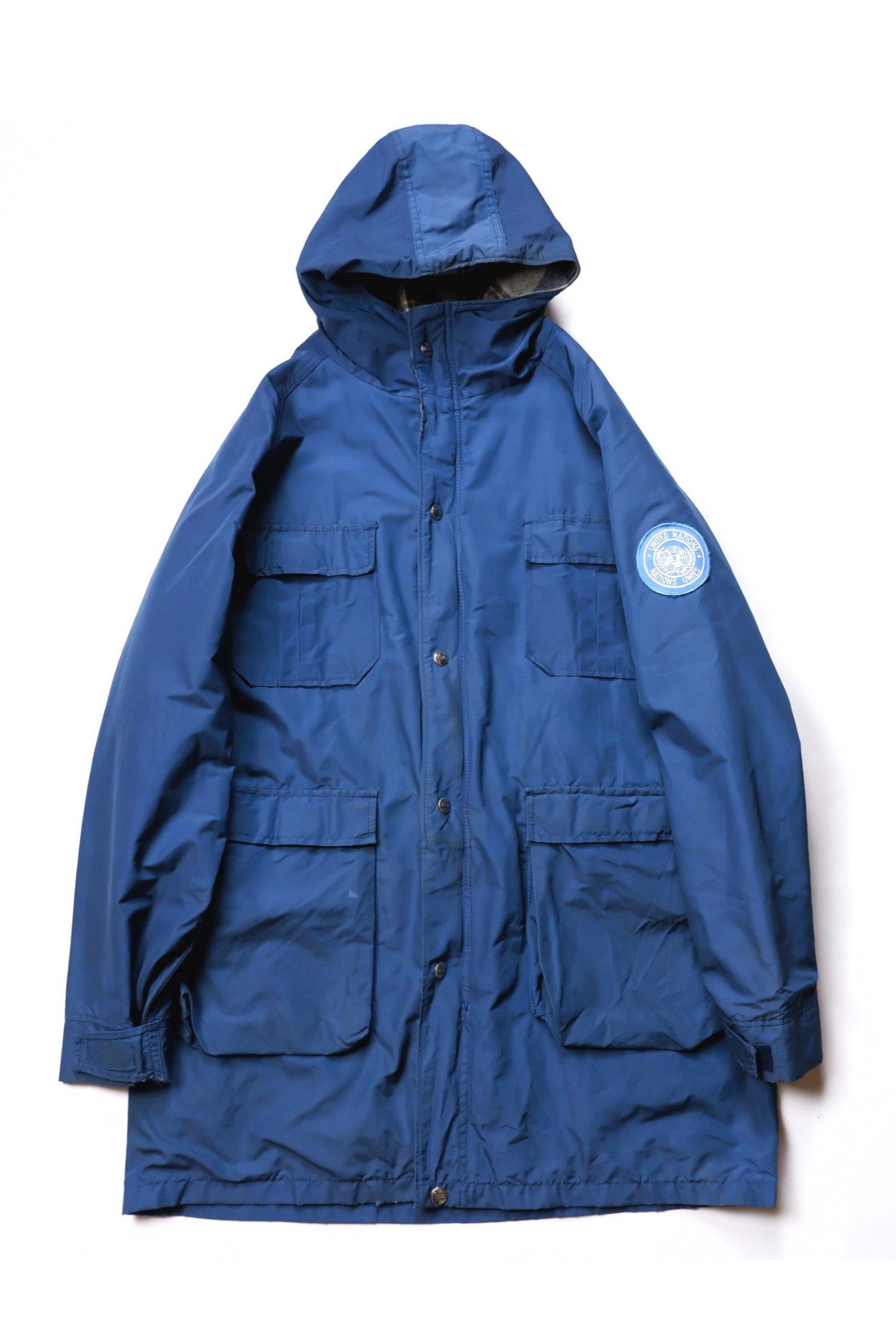 WOOLRICH Vintage Outdoor Jacket_ Made in USA_Blue-01