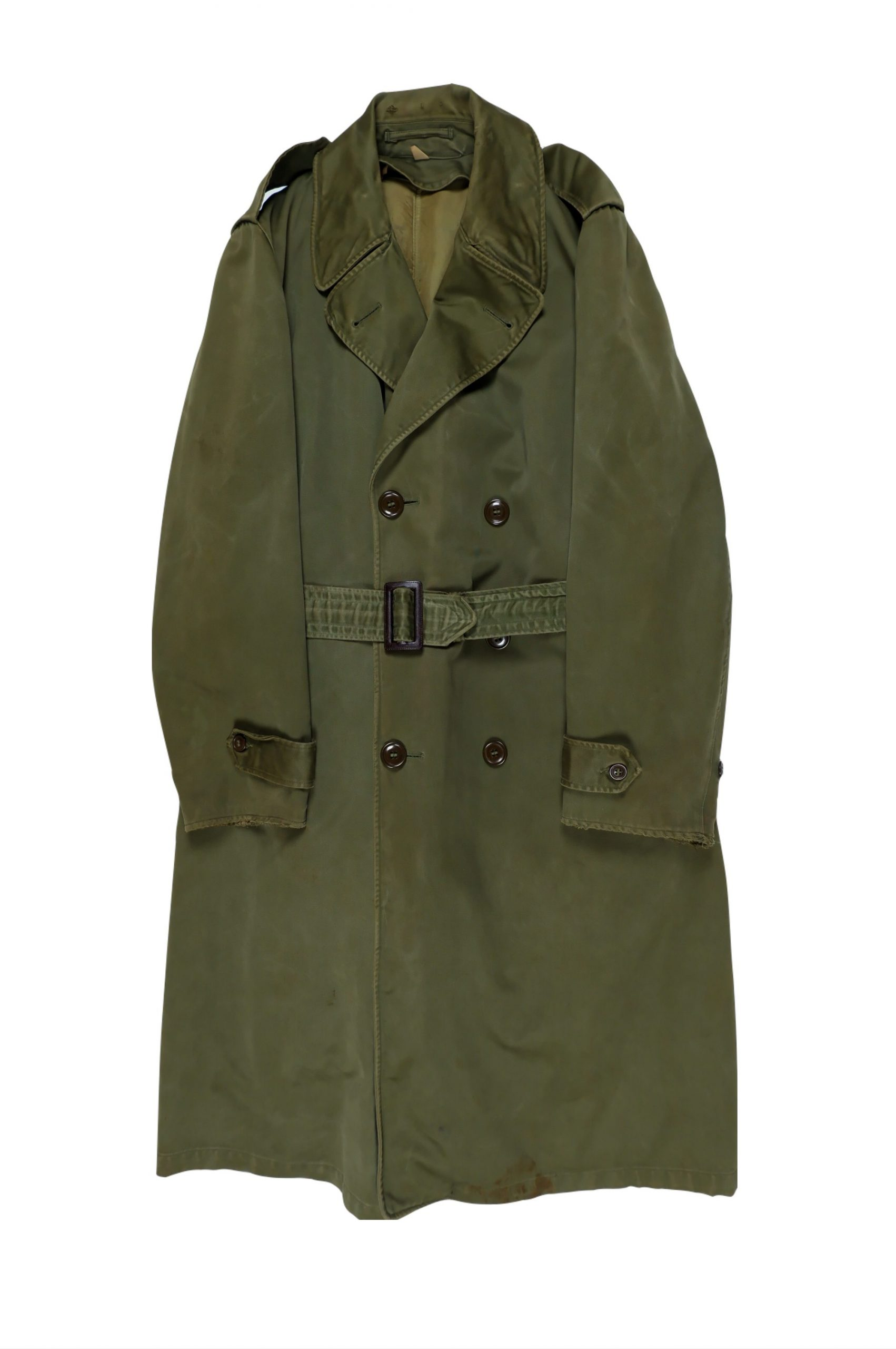 1950's Vintage Military Trench Coat
