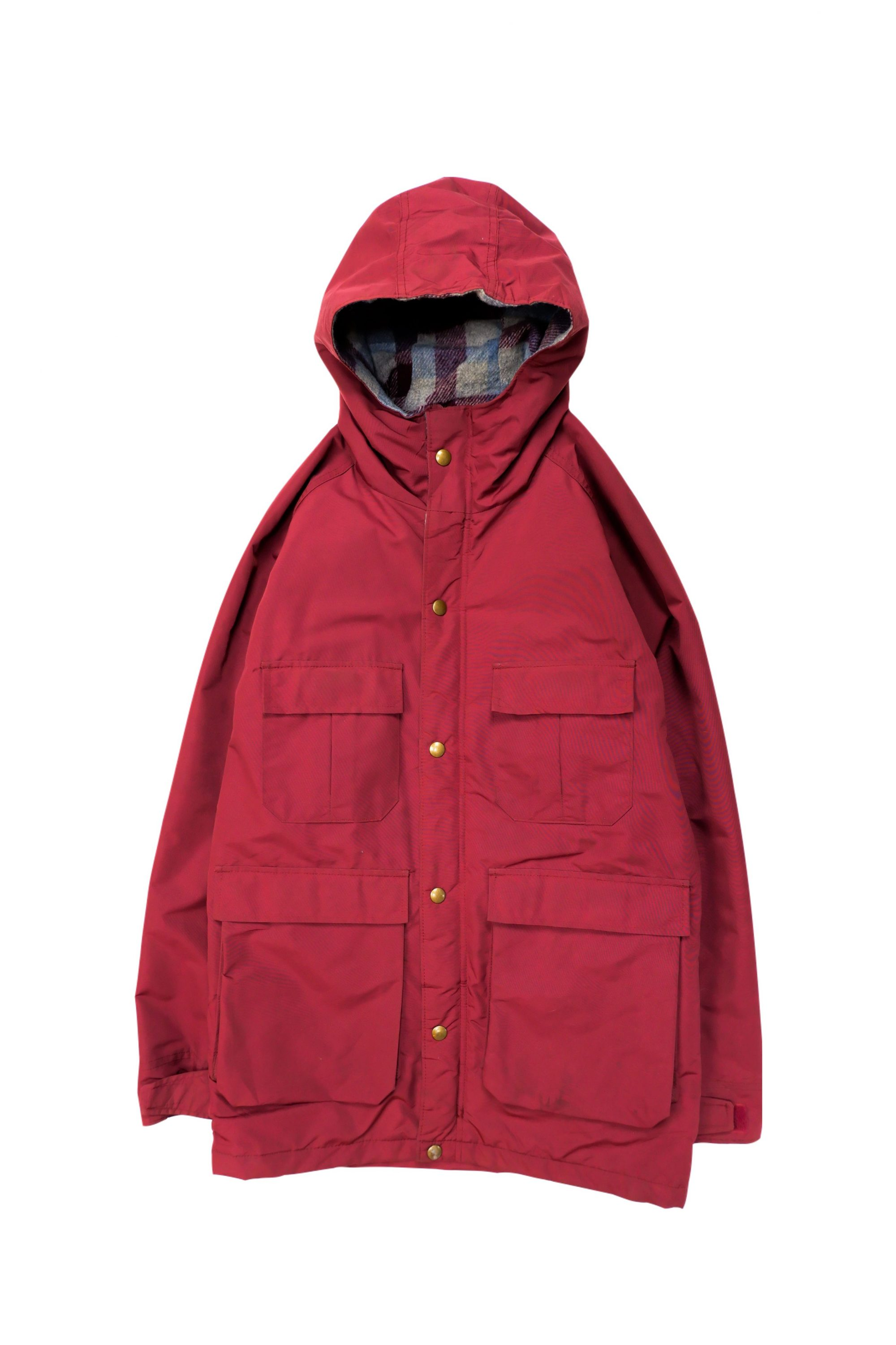 WOOLRICH Vintage Outdoor Parka_ Made in USA_RED
