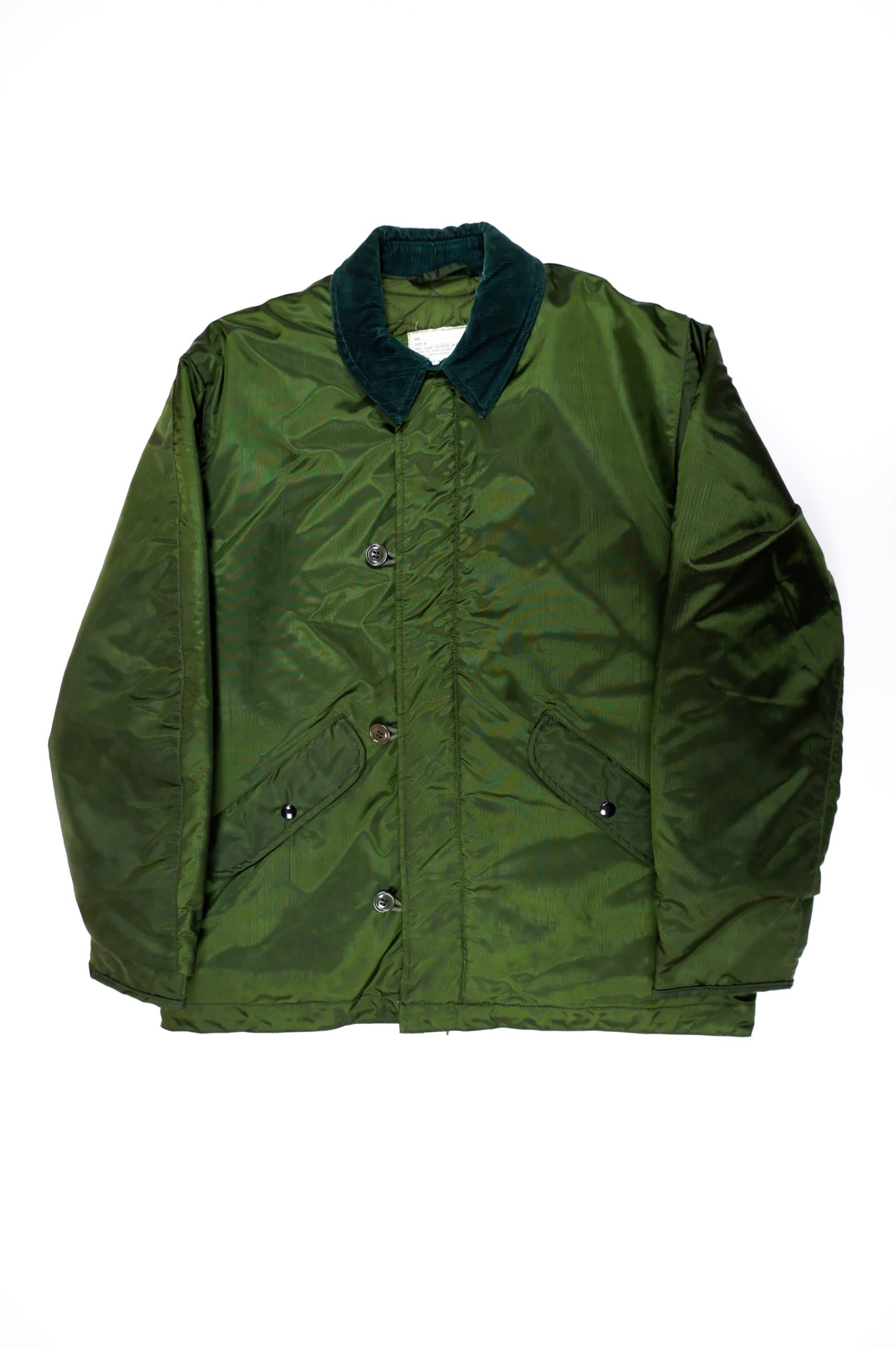 70's Vintage Military Extreme Weather Impermeable Jacket-13