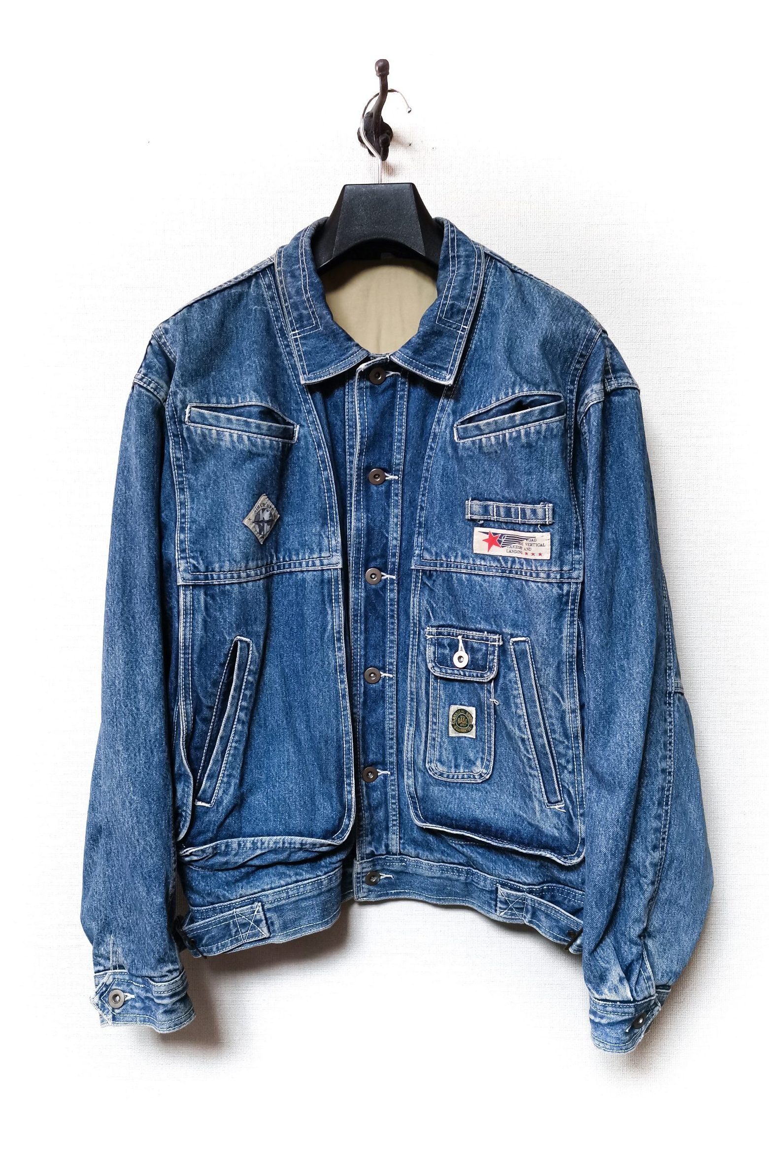 Bobson Denim Flight Jacket