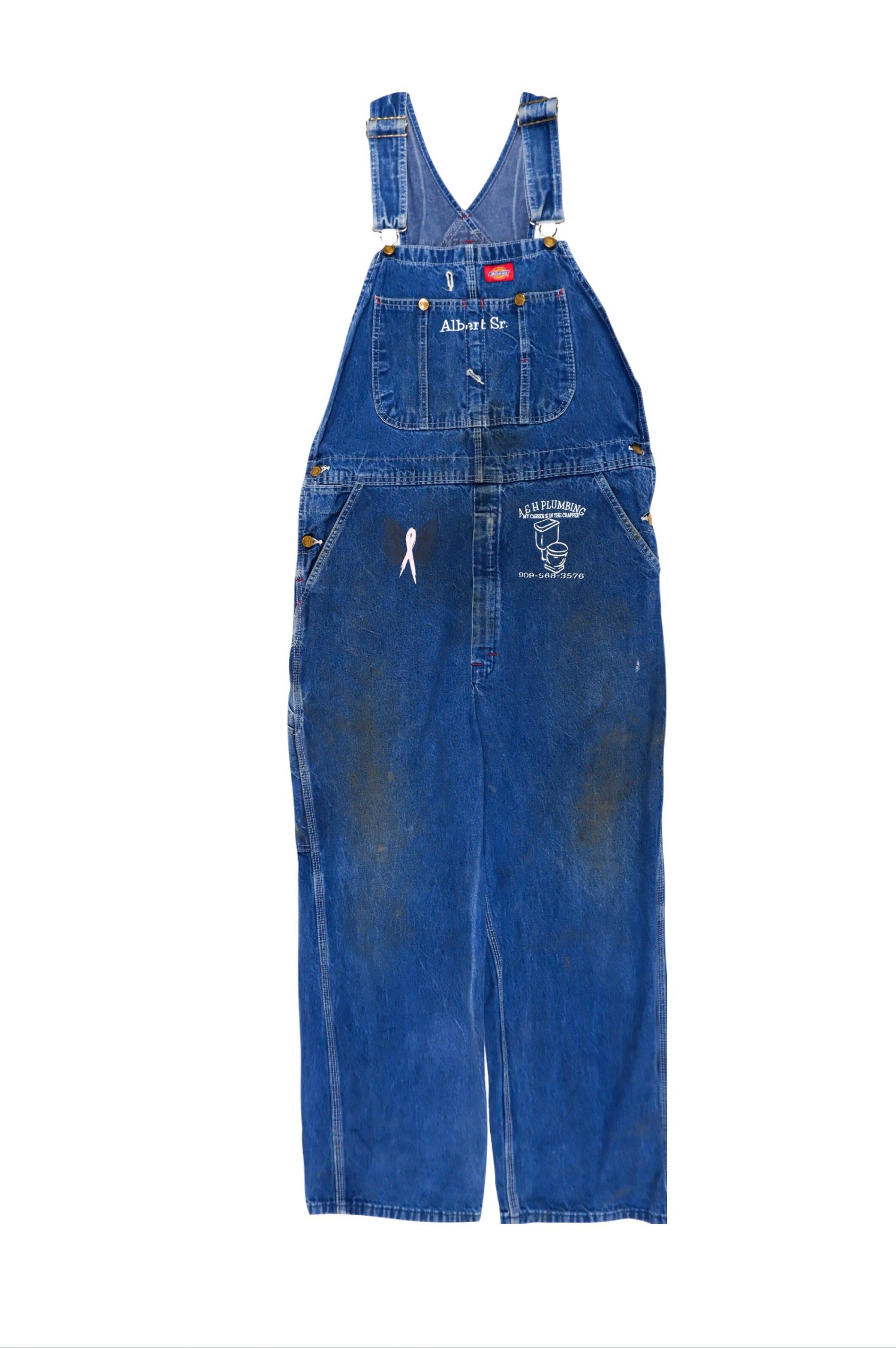 DICKIES Vintage Denim Overalls