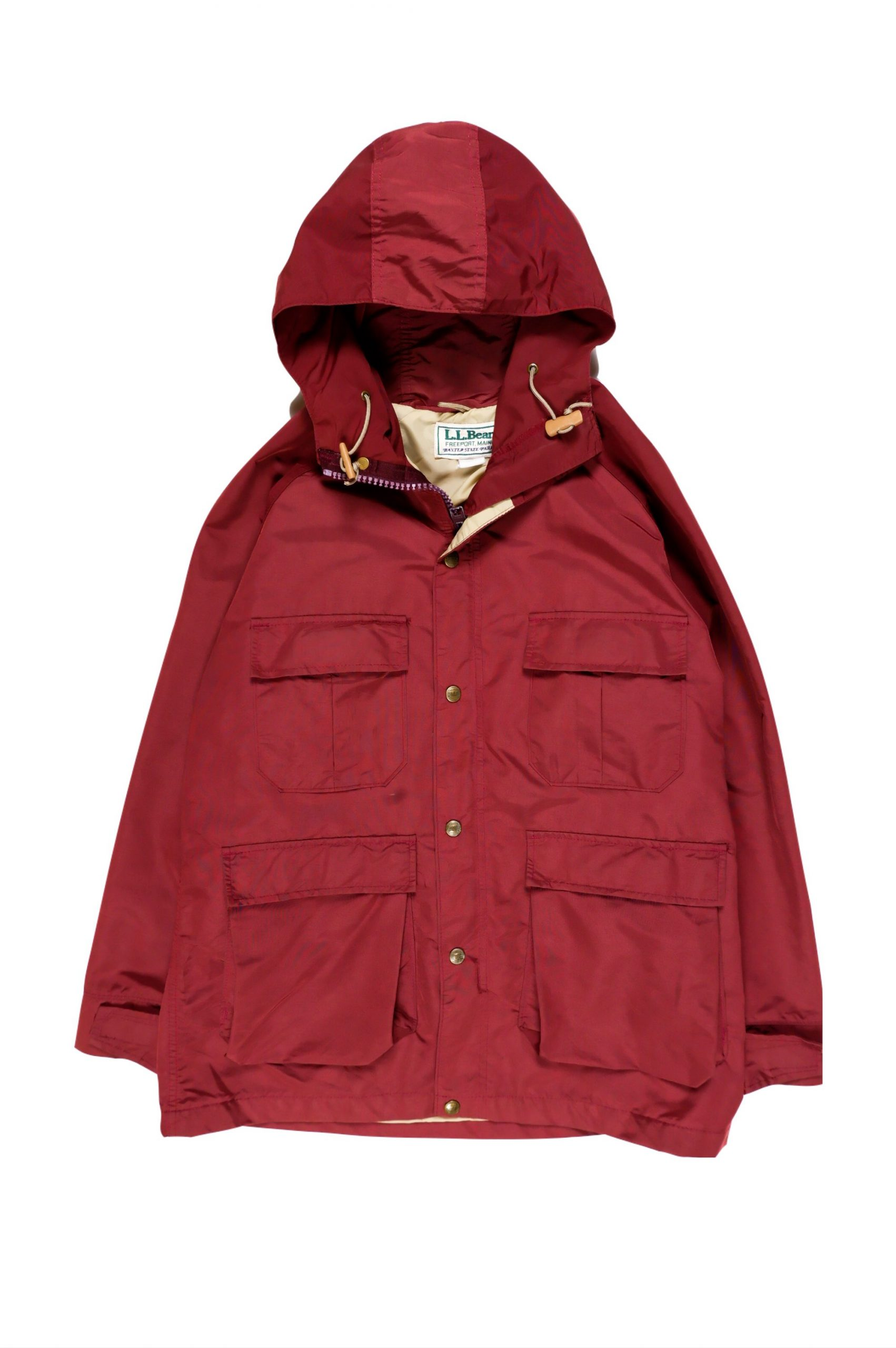 L.L Bean Vintage Outdoor Parka_MADE IN USA