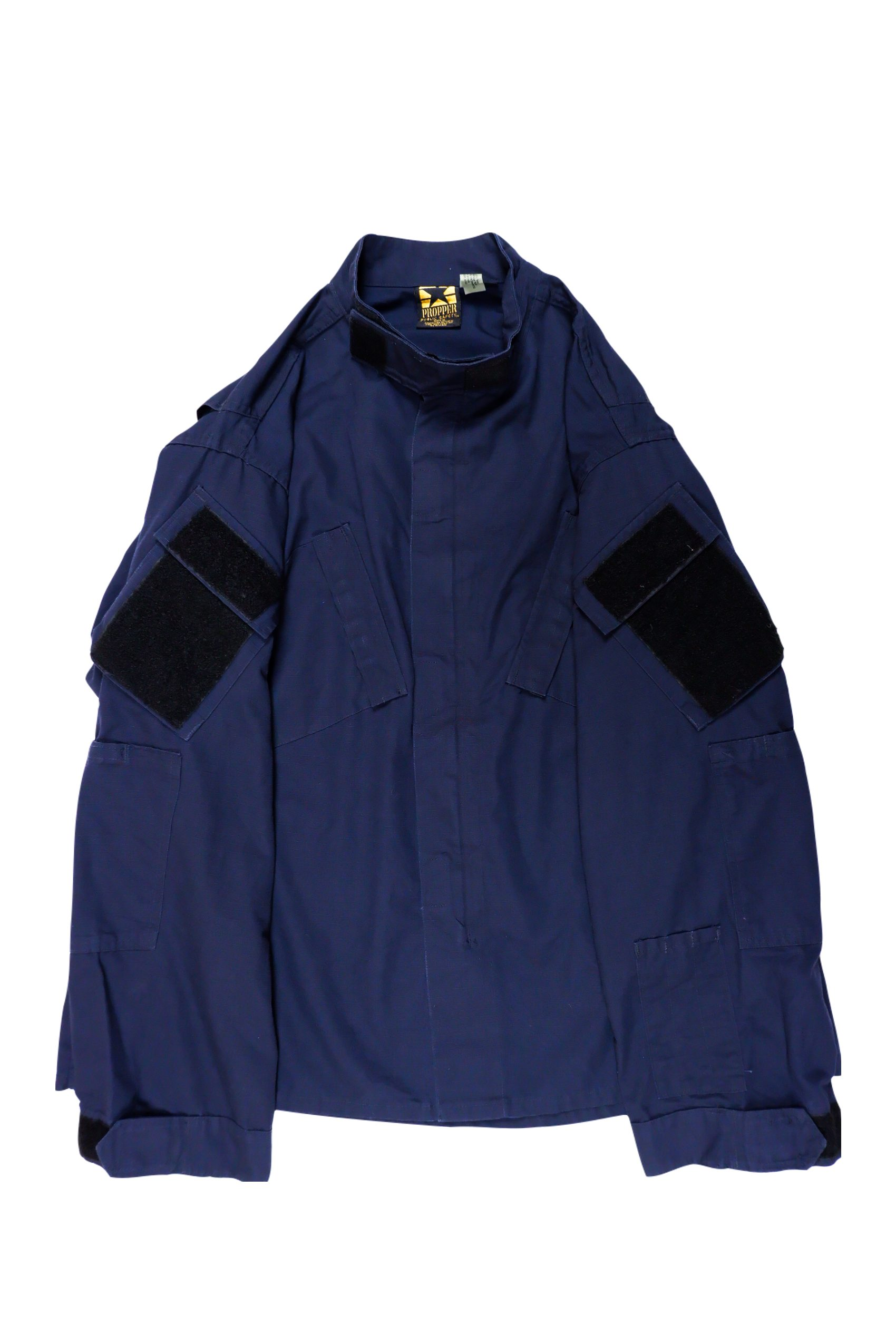 Oversized Rip-stop Military Jacket