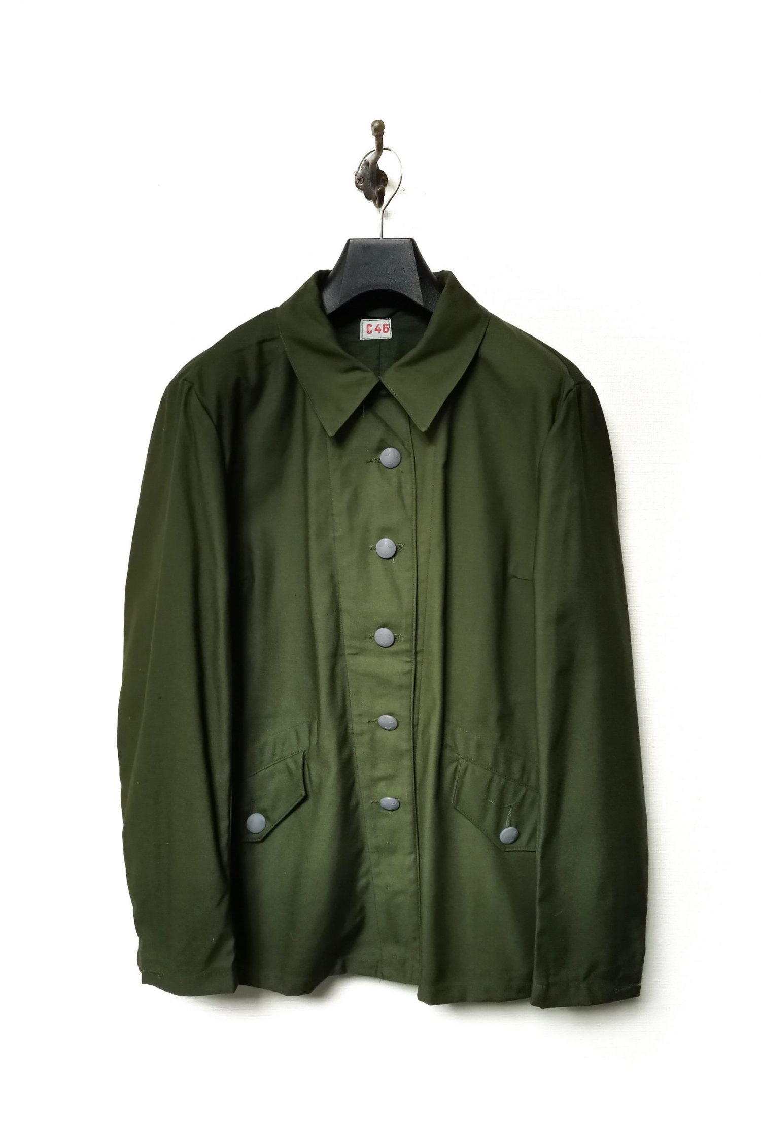 Swidish Military Work Jacket_Dead Stock (2)