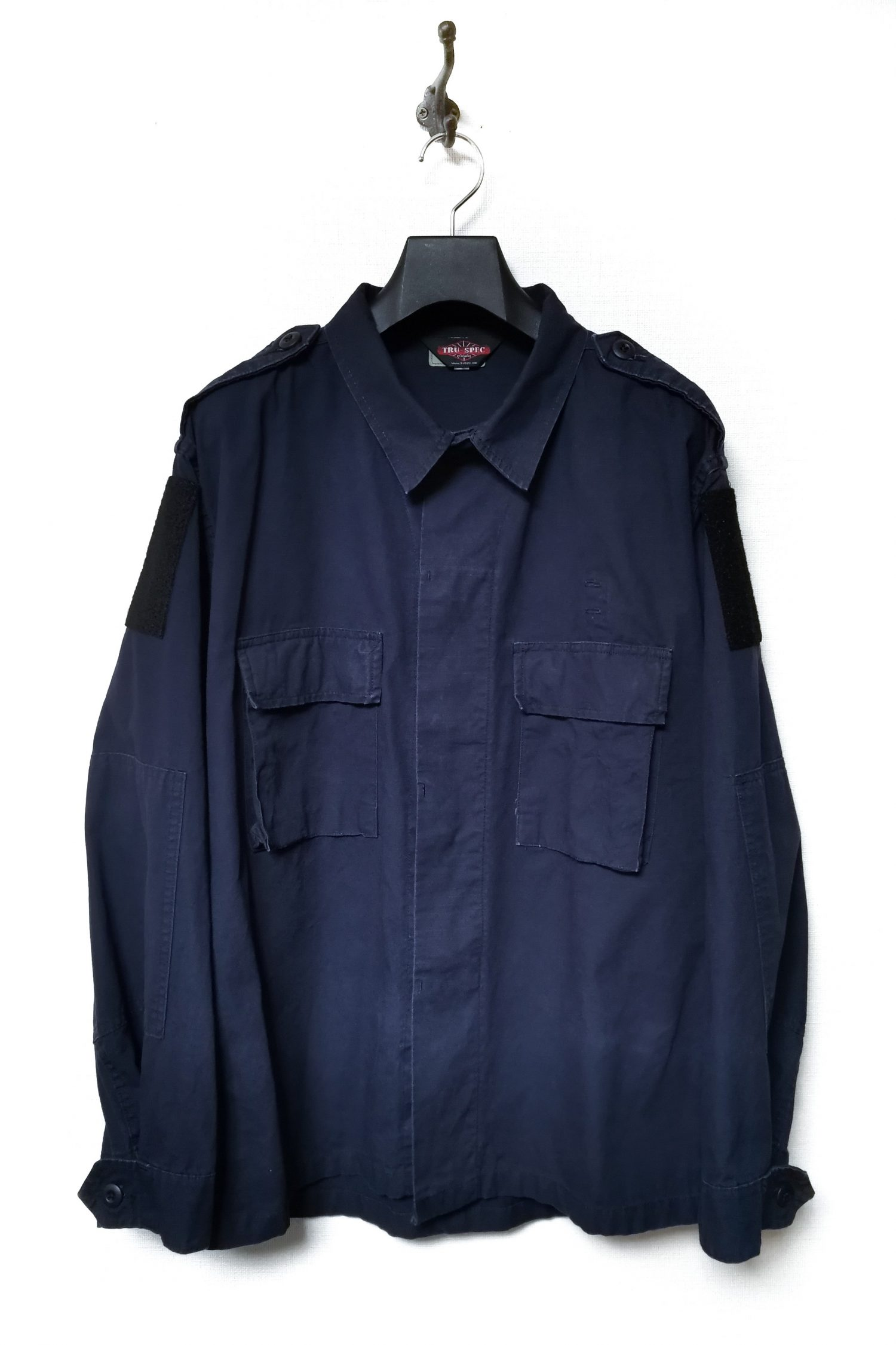 Oversized Rip-stop Military Jacket -10