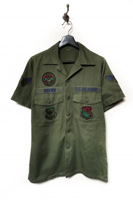 US Military Utility Short Sleeve Shirt_Full Patch_M-7